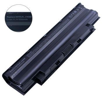 Battery Dell Inspiron N5110 N5010 N7010 N7110 M5010 M5030 N3010 N4010 N4050 N4110 N4120 Vostro 1440 1450 1540 1550 2420 2520 3450 3550 3555 3750 J1KND 4YRJH 9JR2H 6P6PN 7XFJJ 383CW WT2P4 11.1V 5200mAh Black OEM