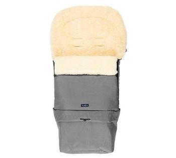 Конверт для коляски из натуральной шерсти Womar Zaffiro Sleep&Grow Wool Grey