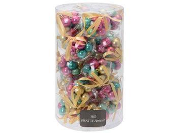 купить Набор шаров 12X30mm, 3 дизайна, с лентой, разноцвет в Кишинёве
