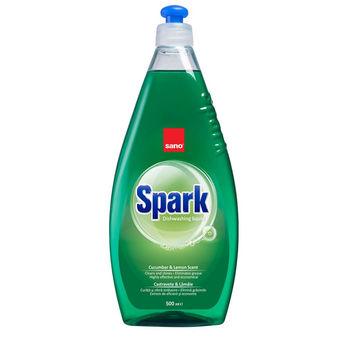 купить Sano Spark средство для мытья посуды Cucumber-Limon Scent,  0,5 л в Кишинёве