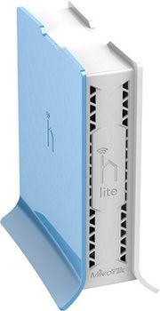 Mikrotik RB941-2nD-TC hAP Lite: Wi-Fi точка доступа,Коммутатор 4xLAN Скорость портов  100Мбит/сек,Количество внутренних антенн 2 x 1.5 dBi,есть Web-интерфейс.