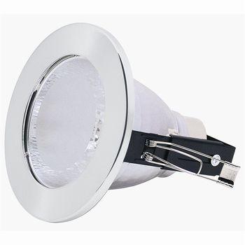 Horoz Electric Встраиваемый светильник HL 602 хром