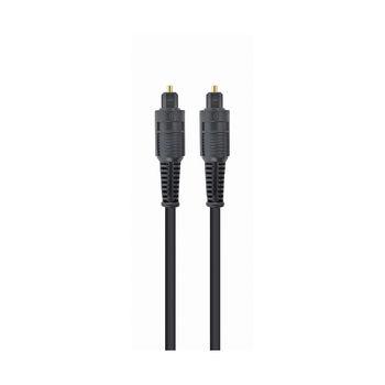 Gembird CC-OPT-2M audio optical cable, black, 2m, link between audio equipment