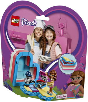 """LEGO Friends """"Летняя шкатулка-сердечко для Оливии"""", арт. 41387"""