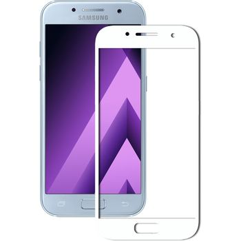 Защитное стекло Samsung J730 WHITE (5D )