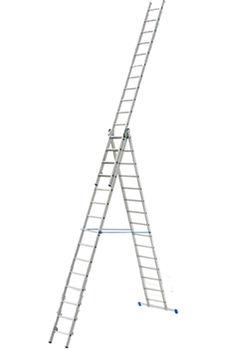 купить Ascara Лестница алюминиевая трехсекционная Elkop VHR P 3x15 в Кишинёве