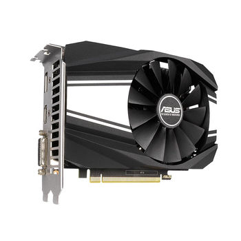 Видеокарта ASUS PH-GTX1650S-O4G, GeForce GTX1650S 4GB GDDR6, 128-bit, GPU/Mem clock 1770/12002MHz, PCI-Express 3.0, DVI-D/HDMI 2.0b/Display Port 1.4 (placa video/видеокарта)