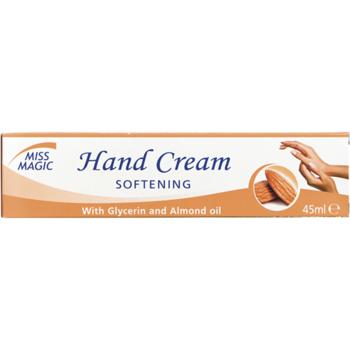 Крем для рук, SOLVEX Miss Magic, 45 мл., смягчающий, с глицерином и миндальным маслом
