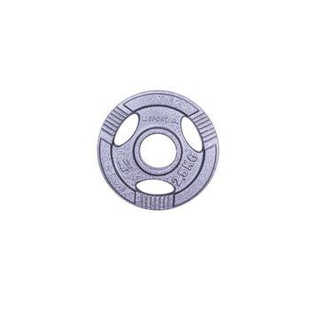 Диск метал. c ухватами 2.5 кг d=50 мм inSPORTline 12702 (1176)