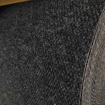 Ковровое покрытие (иглопробивное) York 50, серо-черный
