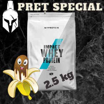 Сывороточный протеин (Impact Whey Protein) - Шоколадный банан - 2.5 KG