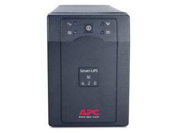 купить APC Smart-UPS SC 620VA 230V, Line-Interactive, user repl. batt., SmartBoost, SmartTrim, data line protection в Кишинёве