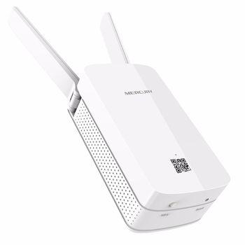 купить MERCUSYS MW300RE  300Mbps Wi-Fi Range Extender, WPS button, 2 fixed antennas в Кишинёве