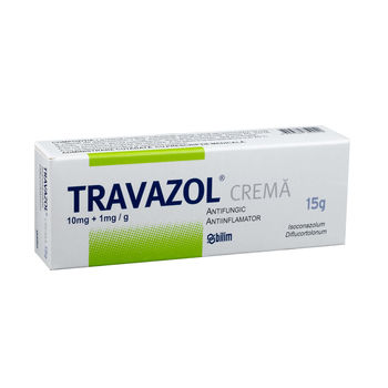cumpără Travazol Crema 10mg+1mg/g 15g în Chișinău