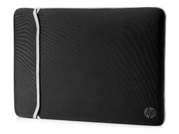 купить HP 15.6 Chroma Neoprene Reversible Sleeve (Black/Silver) в Кишинёве