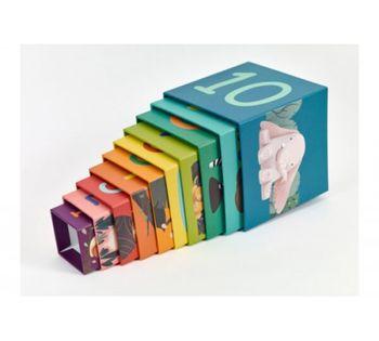 """купить Деревянные кубики-пирамидка """"Дикие Животные"""" Classic World 20019 в Кишинёве"""