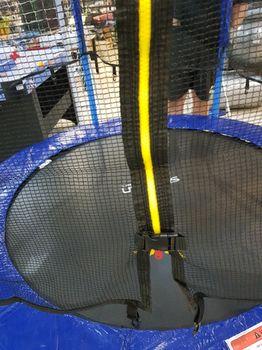 Батут с сеткой и лестницей d=180 см (макс. 125 кг) Spartan 982 (3690)
