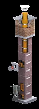 Дымоходная система керамическая - LEIER TURBO