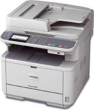 MFD Toshiba E-STUDIO 332S, Mono Printer/Copier/Color Scanner,ADF(50-sheet),Duplex,Net, A4/33ppm,256Mb,2400x600dpi,25–400%,60-120г/м2,Scan600x600dpi,Paper Input: 250-sheet tray,USB 2.0,Max.80k pag per month,Toner T-4030E(12000pag /Starter 2000pag - 5%