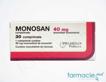 cumpără Monosan comp. 40 mg N10x3 în Chișinău