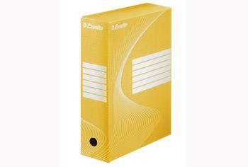 Бокс архивный BOXYCOLOR, 10cm, желт
