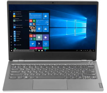 "Lenovo ThinkBook 13s-IML 13.3"" FHD IPS AG 300 nits (Intel Core i5-10210U, 1x16GB DDR4-2666, 512GB SSD M.2 2242 PCIe NVMe, 11ac 2x2 + BT5.0, Intel® UHD Graphics, TPM, FPR, Backlit KB, 45Wh BT, Win10Pro, Aluminum, 1.4kg)"