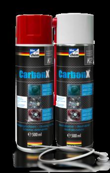 CarbonX K1+K2 Очистка камеры сгорания, клапана рециркуляции отработавших газов, система впуска турбины