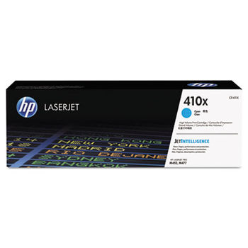 HP 410X Cyan Original LaserJet Toner Cartridge for M477-series