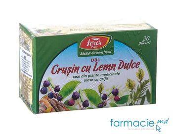 купить Ceai Fares Crusin cu Lemn Dulce 1.5g N20 в Кишинёве