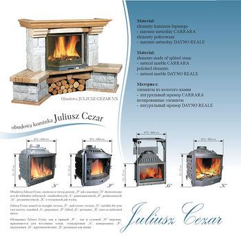 купить Каминная облицовка - Jabo Marmi JULIUSZ CEZAR в Кишинёве