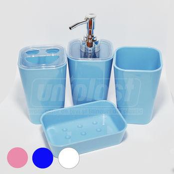 cumpără Set baie 4 piese,plastic patrat in asort. în Chișinău