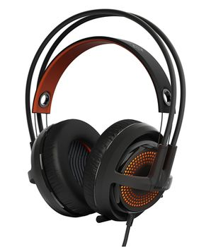 STEELSERIES Siberia 350 / Gaming Headset with Crystal-clear retractable Microphone, on the cord volume control, DTS Headphone:X 7.1 Surround Sound, 50mm neodymium drivers, Prism RGB Illumination, Cable lenght 1.5 m, USB, Black