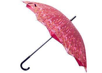 Зонт-трость женский двойной купол D58сm