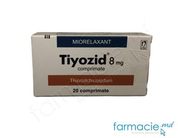 купить Tiyozid® comp. 8 mg  N10x2 в Кишинёве