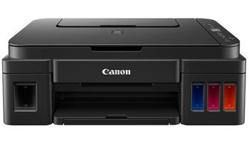 MFD Canon Pixma G2411, Color Printer/Scanner/Copier, A4, 4800x1200dpi_2pl, ISO/IEC 24734 - 8.8 / 5.0 ipm, 64-275g/m2, LCD display_6.2cm, Rear tray: 100 sheets, USB 2.0, 4 ink tanks: GI-490BK (12 000 pages*),GI-490C,GI-490M,GI-490Y(7 000 pages*)