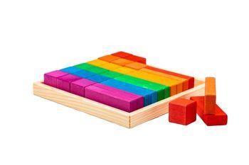 купить Marc Toys деревянная игрушка кубики 30 штк в Кишинёве