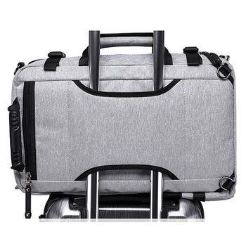 """купить Классический городской рюкзак - сумка трансформер Kaka 2255 для ноутбука 15.6"""",  водонепроницаемый, чёрный в Кишинёве"""