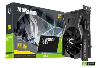 купить ZOTAC GeForce GTX 1650 OC 4GB GDDR5, 128bit, 1695/8000Mhz, Single Fan, DL-DVI-D, HDMI, DisplayPort, FireStorm, Lite Pack в Кишинёве