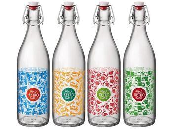 купить Бутылка с крышкой Giara Fun 1l, с рисунком в Кишинёве