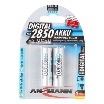 Ansmann AA NiMH 2850mAh, 2pack (blister)