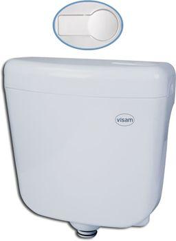 купить Бачок WC BETA (кнопка пластик) с боковой подводкой 6L Visam в Кишинёве