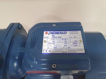 купить Гидрофор PEDROLLO JSWm2 AX-24CL 1.1кВт 9м в Кишинёве