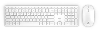 HP Pavilion Wireless Keyboard and Mouse 800, White