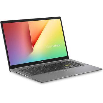 "Ноутбук 15.6"" ASUS VivoBook S533EA Indie Black, Intel i5-1135G7 2.4-4.2Ghz/8GB DDR4/SSD 512GB/Intel Iris Xe Graphics/WiFi 6 802.11ax/BT5.0/USB Type C/HDMI/HD WebCam/Illuminated Keyboard/15.6"" FHD IPS LED-backlit NanoEdge Anti-glare (1920x1080)/No OS S533EA-BQ002"