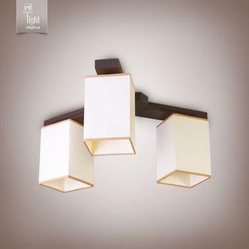 купить N&B Light Светильник Хьюстон 18833-1 венге глянец в Кишинёве