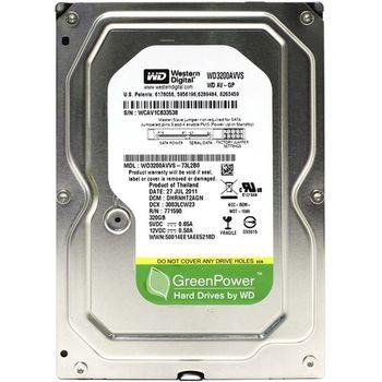 """.320Gb HDD 3.5"""" Western Digital WD3200AVVS  AV-GP, 7200rpm, 8Mb, SATA2"""