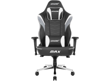 Gaming Chair AKRacing Master Max AK-MAX-BK, black, User max load up to 180kg/height 170-200cm