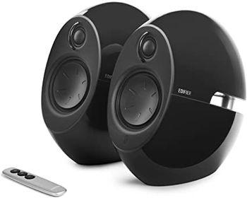 "Edifier E25HD Black, 2.0/ 74W (2x37W) RMS, Audio in: Bluetooth 4.0, auxiliary, optical, remote control, satl.(3""+3/4"")"