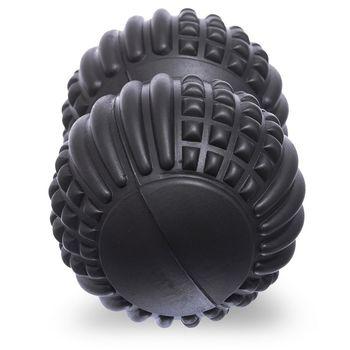 Массажный мяч двойной 20x8 см (EVA, PVC) DuoBall FI-1686 (4637)