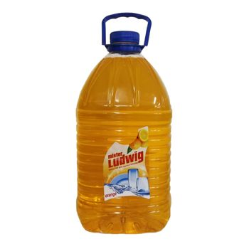 cumpără Solutie pentru spalarea vaselor Mister Ludwig orange 5000gr în Chișinău